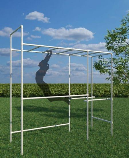 Klatrestativet og træningsstativ til leg og hygge(Small)